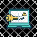 Keylogging Icon