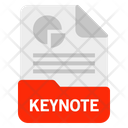 Keynote File Format Icon
