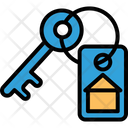 Keyring Lock Key Protection Icon