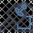 Keyring Lock Key Protection Icon