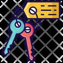 Keys Keychain Door Keys Icon