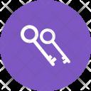 Keys Two Icon