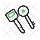 Keys Safety Security Icon