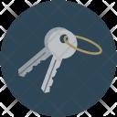 Keys Door Shut Icon