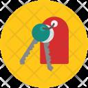 Keys Keychain House Icon