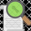 Keyword Online Webpage Scanner Site Protecting Icon