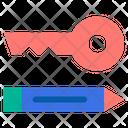 Keyword Keyword Key Icon
