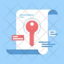 Keyword Management Secure Icon