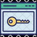 Key Keyword Passkey Icon