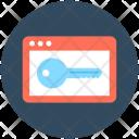 Keyword Key Security Icon