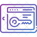 Keyword Access Keywords Icon