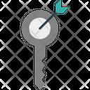 Keyword Keyword Research Target Icon
