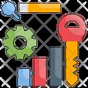 Keyword Search Search Engine Optimization Icon