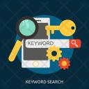 Keyword Search Seo Icon