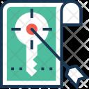 Keyword Targeting Seo Icon