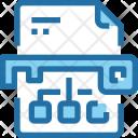 Keyword Marketing Paper Icon