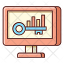Keyword Analysis Analysis Keyword Icon
