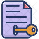 Keyword Generator Keyword File Document Icon