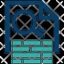 Keyword Generator Keyword Document Keyword Creation Icon