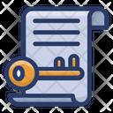 Keyword List Icon