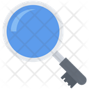 Magnifier Search Key Icon
