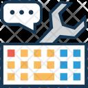 Keyword managemnet Icon