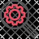 Keywork Research Search Icon