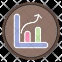 Keyword Position Graph Icon