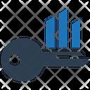 Keyword Analytics Keywording Research Icon