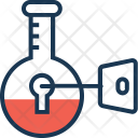 Keyword Research Encryption Icon