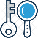 Keyword Research Key Icon