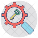 Keyword Research Optimization Icon