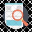 Keyword Search Keywording Icon