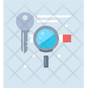 Keyword Search Search Engine Keyword Analysis Icon