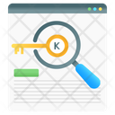 Keyword Search Find Keyword Keyword Analysis Icon