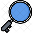 Magnifier Search Keyword Icon