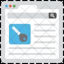 Keyword Software Icon