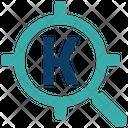 Keyword Targeting Seo Online Focus Icon