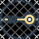 Keywords Account Key Icon