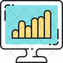 Keywords Rankings Ranking Graph Analysis Icon