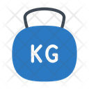 Kg Weight Exercise Icon