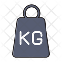 Kg Weight Meter Icon