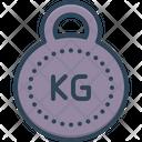 Kg Kilogram Mass Icon