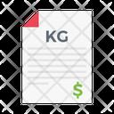 File Records Kg Icon