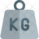 Kg Weight Icon