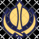 Khanda Sikhism Sikhi Icon