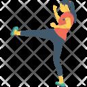 Kick Gym Workout Icon