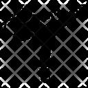 Kick Kickboxing Kicking Icon