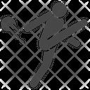 Kick Shoot Salvo Icon