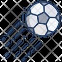 Kick Ball Football Soccer Icon